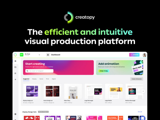 Introducing Creatopy: Design, Communicate, and Shine!