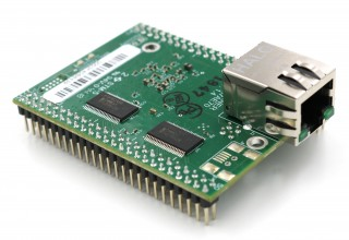 ARM®-Powered NetBurner MODM7AE70 System-on-Module with RJ-45