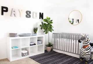 Monochrome Nursery Letters by House of Crazi
