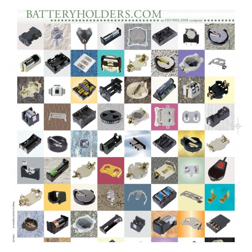 2017 Battery Holder Catalog Released