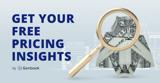 Genbook Unveils 'Pricing Insights': A Free Online Tool to Help Service-Based Entrepreneurs Price Intelligently