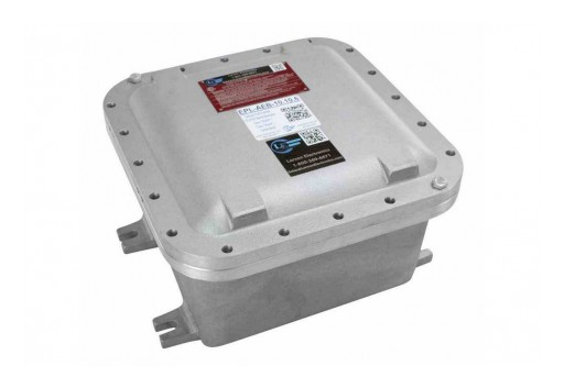 "Larson Electronics Releases Explosion Proof Enclosure, CID1, (8) 1"" NPT Hubs, Surface Mount"