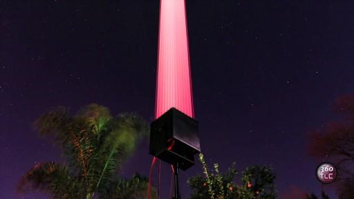 Space LASER CANNON - High-Power Laser Beam - TLC Creative