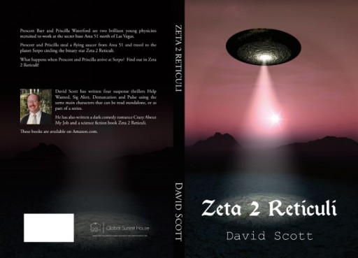 Author Takes Readers on the Ride of Their Lives in Science Fiction Thriller 'Zeta 2 Reticuli'