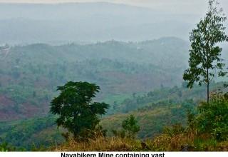 Nayabikere Mine containing vast amounts of Nickel, Cobalt and copper in Karuzi Province, Burundi