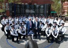 Lazar Finker, Eugene Frenkel and Jacksonville Police Officers
