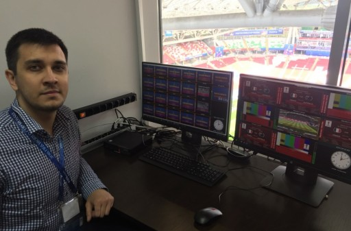 Low Latency Broadcasting Within Venues at Football World Cup 2018