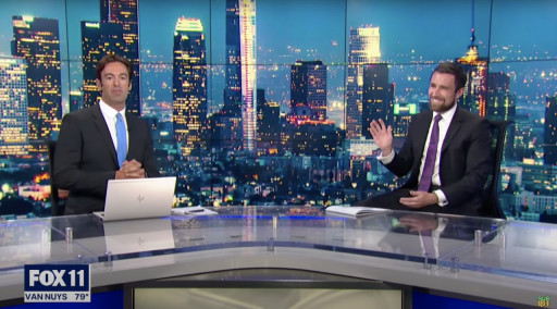 New Democratic Challenger to Newsom Becomes Fox LA's First In-Person Interview Post Covid; Proposes Ending Water Shortage & $2,000/mo.