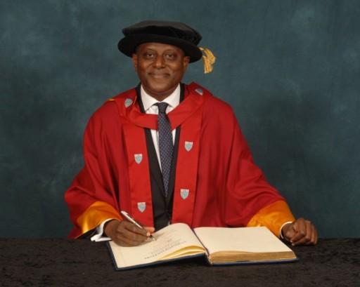 Chairman of Citibank Nigeria, Olayemi Cardoso Awarded Honorary Doctorate by Alma Mater, Aston University