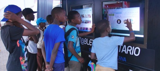 Innovative Community Tablet Brings Digital Literacy to Mozambique