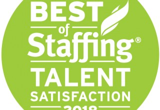 2018 Best of Staffing Talent Satisfaction Award