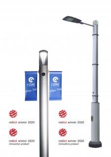 iCore Smart IoT Poles win Red Dot