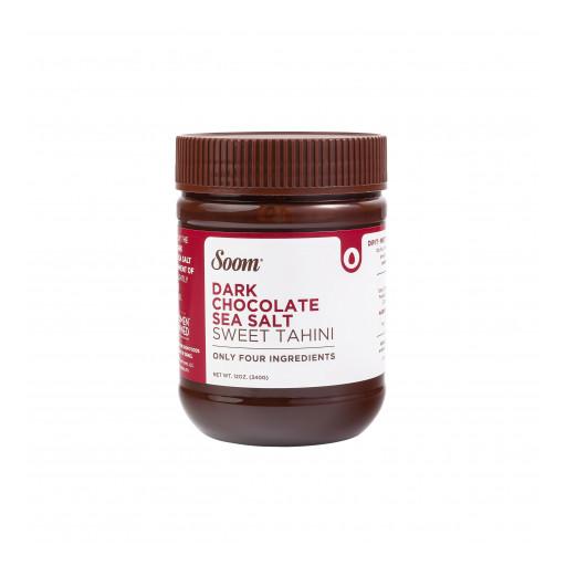 Soom Foods Launches New Dark Chocolate Sea Salt Sweet Tahini