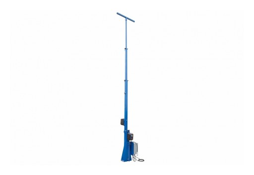 Larson Electronics Releases 20' Fixed Light Mast, 3-Stage Tower, 2 Electric Winches, 360˚ Rotation