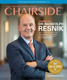 Volume 16, issue 2 of Chairside® magazine