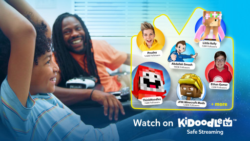 Kidoodle.TV® Levels Up Quantities of Kid-Friendly Gaming Content