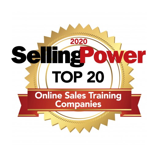 Selling Power Recognizes Tyson Group as a Top 20 Online Sales Training Company