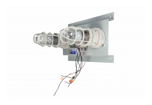 Larson Electronics Releases 20W Explosion-Proof LED Traffic Light, 4 Relays, 2 LEDs, 120-277V AC
