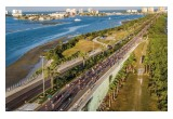 The Say No to Drugs Holiday Classic December 17, 2016—nearly 2,000 runners raced across Memorial Causeway, heading for Clearwater Beach.