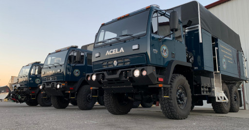 Acela Truck Company Delivers High Water Flood Rescue Trucks to  U.S. Veterans Health Administration