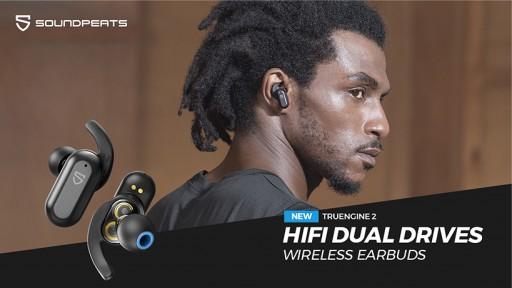 SOUNDPEATS Announces Launch of Truengine2 - the Most Advanced HiFi Dual-Driver Wireless Earbuds