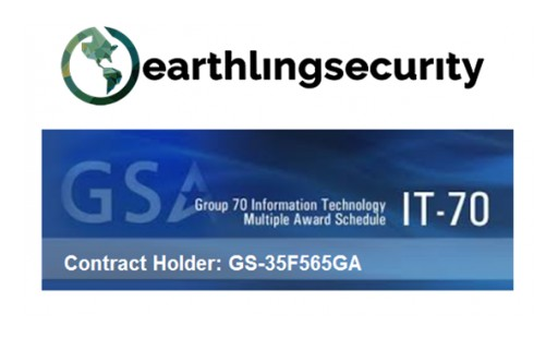 Earthling Security Has Been Awarded GSA IT Schedule 70 Contract for Nationwide Sales to All Federal Government Agencies.