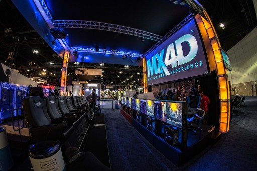 MediaMation's MX4D Esports Theatre Concept Wins the Support of Gamers During E3 Show