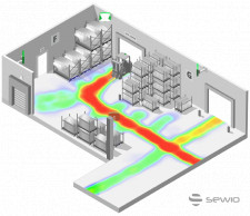 Forklift Tracking by Sewio RTLS