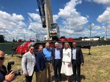 Alta Equipment Company at Gordie Howe International Bridge Groundbreaking
