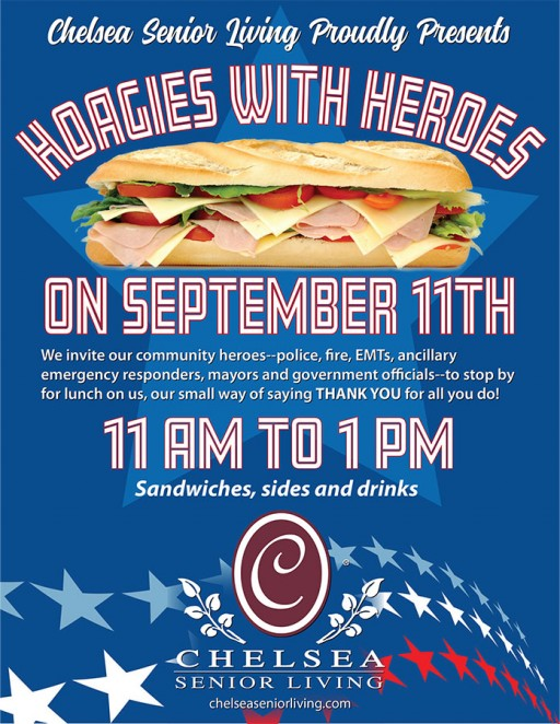 Chelsea Senior Living Honors Local Heroes With Free Lunch on 9-11
