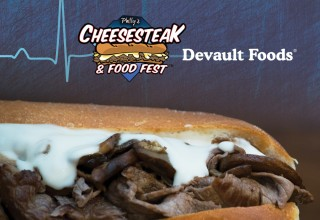 Devault Foods Flatliner Cheesesteak