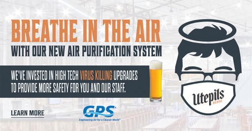 Utepils Brewing Installs Advanced Air Purification System in Taproom