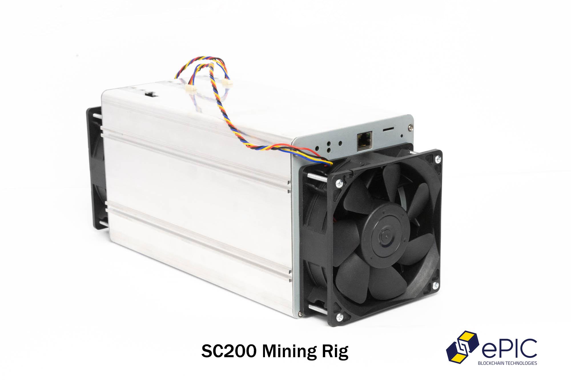 siacoin mining rig