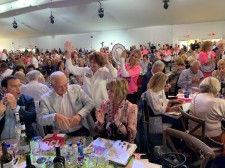 A lively crowd at the Naples Winter Wine Festival