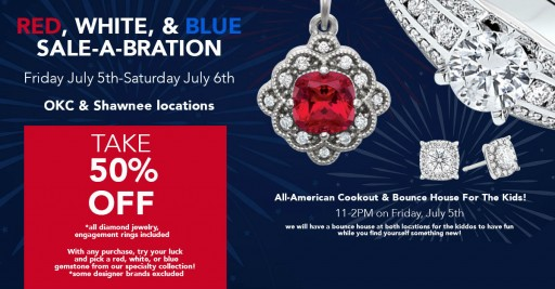 Huntington Fine Jewelers Offers 50% Off on All Diamond Jewelry During Fourth of July Sale