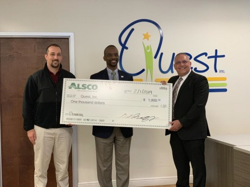 Alsco Tampa Branch Supports Developmentally Disabled in Local Community