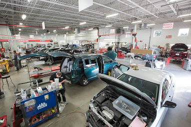 Collision Repair Center >> Autobody News Axalta Products And Training Help Goff S