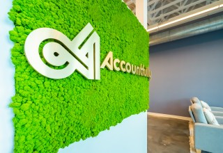 Accountfully Moss Wall in Charleston, SC