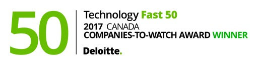 VOTI Detection™ Named One of Canada's Companies-to-Watch in the 2017 Deloitte Technology Fast 50™ Awards