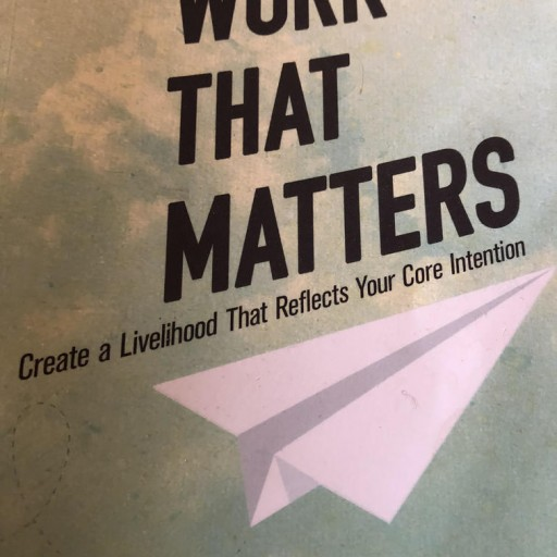 New Book Aims to Help People Do Work That Matters