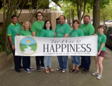 Volunteers of the Seattle chapter of The Way to Happiness Foundation