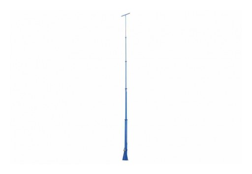 Larson Electronics Releases 60', 7-Stage Telescoping Light Mast, Fold Over, 360-Degree Rotation, 12' to 60'