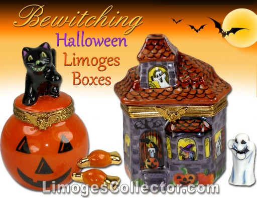 Spooktacular Halloween French Limoges Box Gifts and Collectibles Arrive at LimogesCollector.com