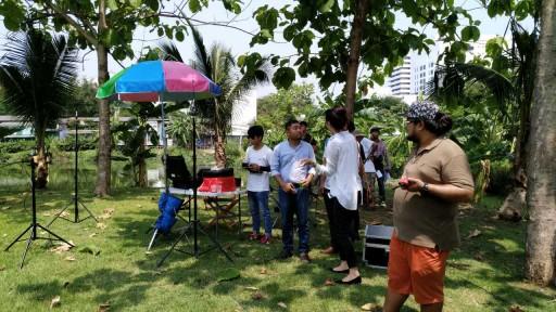 Surveillance drones in Thailand