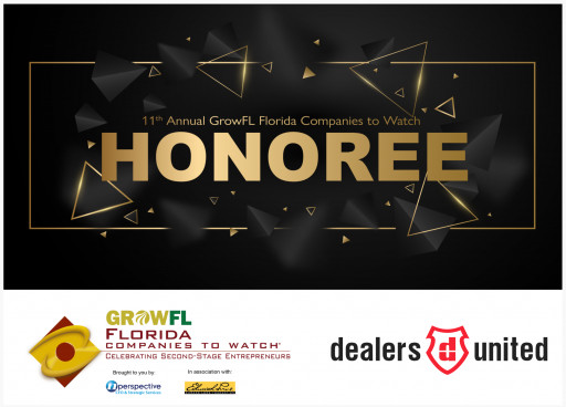 Dealers United chosen as one of top 50 GrowFL Florida Companies to Watch