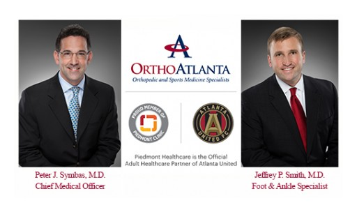 OrthoAtlanta's Peter J. Symbas, MD, is Chief Medical Officer, Atlanta United FC and Jeffrey Smith, MD, Serves Atlanta United 2