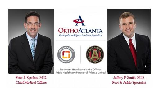 OrthoAtlanta's Peter J. Symbas, MD, is Chief Medical Officer, Atlanta United FC and Jeffrey Smith, MD, Serves Atlanta United 2