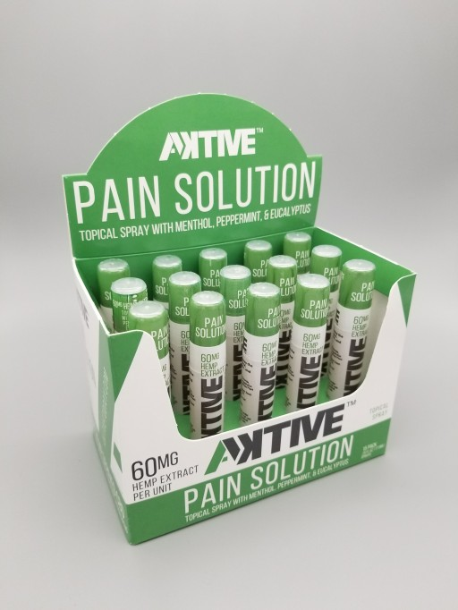 Aktive Introduces Topical Pain Relief Spray With Hemp Extract in Response to Opioid Epidemic
