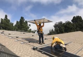 Sullivan Solar Power completed the 41,254-watt installation at the local church