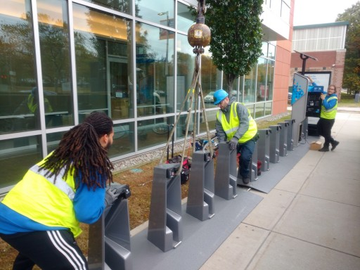 Ready to Roll: Bluebikes Arrives at Whittier Street Health Center